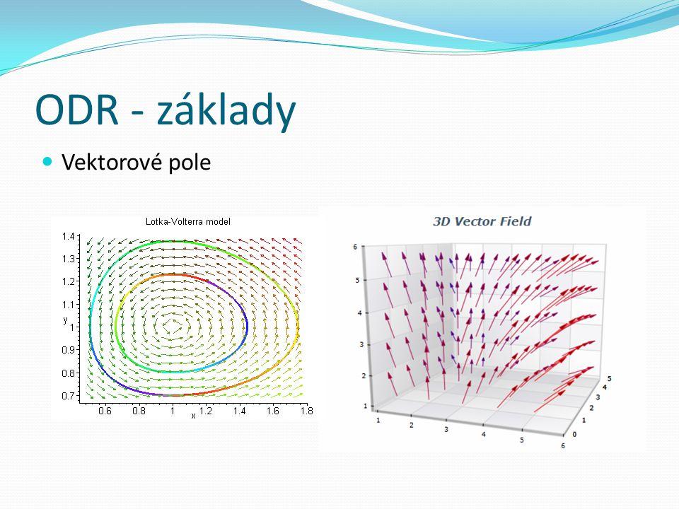 ODR - základy Vektorové pole