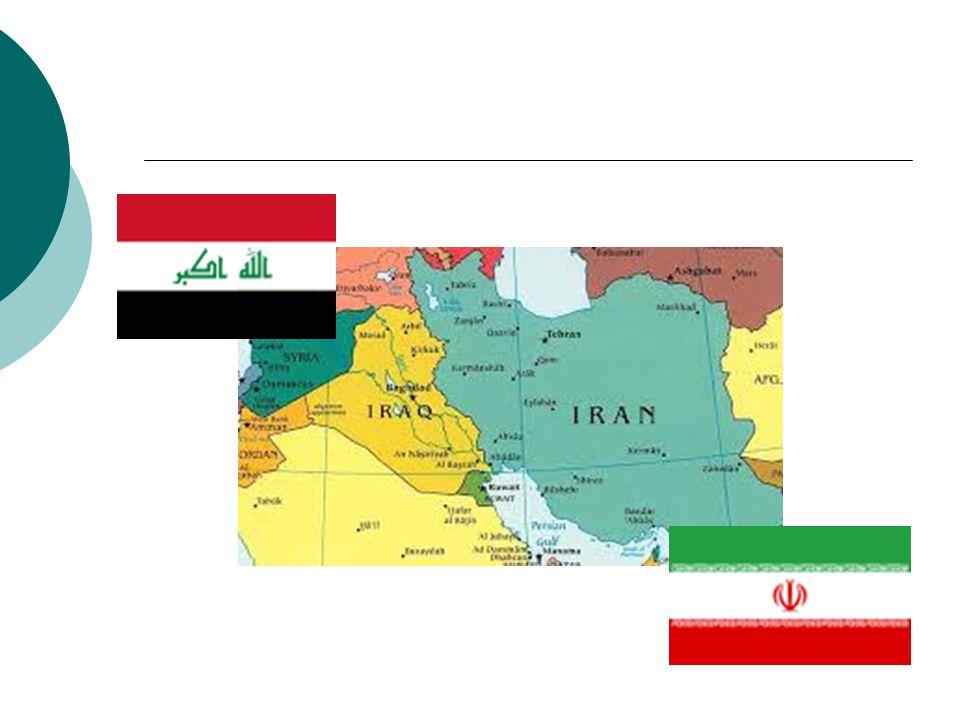 Příčiny války  pohraniční spory (o ostrovy v Perském zálivu)  náboženské neshody  snaha Íráku o významnější postavení v oblasti  několik leteckých útoků Iráku na íránské území (červen 1979 – září 1980)