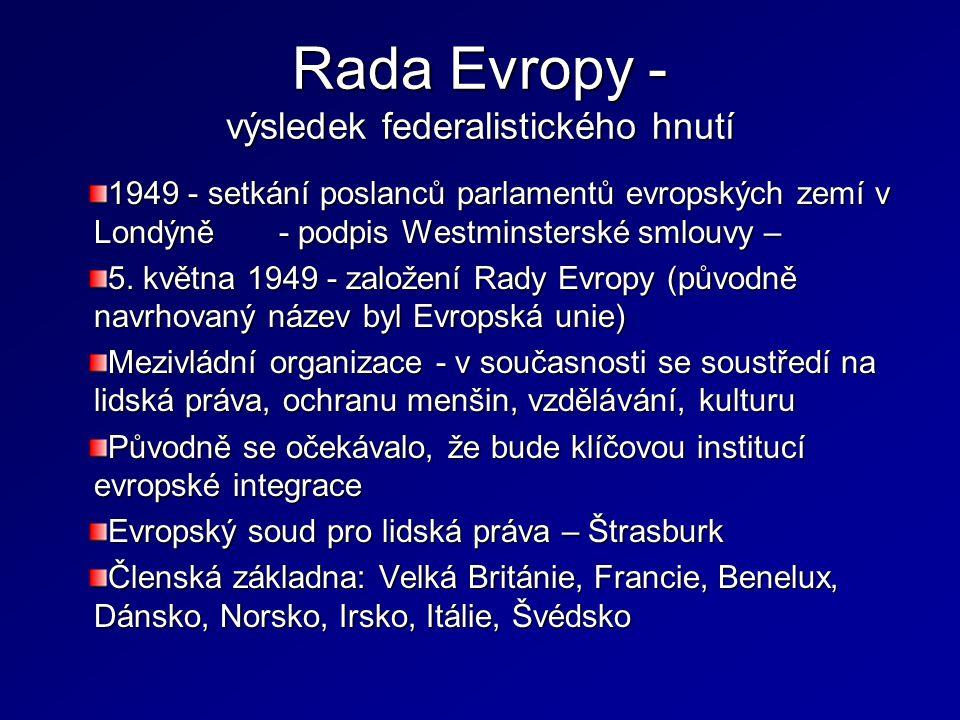 Hlavní body Smlouvy o EU  Další stupeň - politické integrace - II.