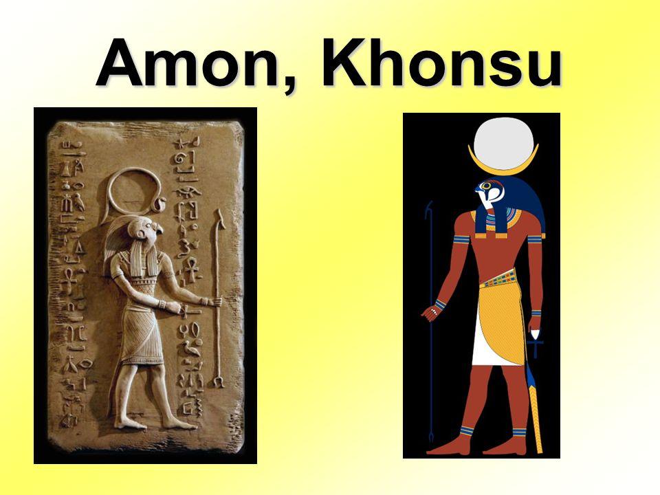 Amon, Khonsu