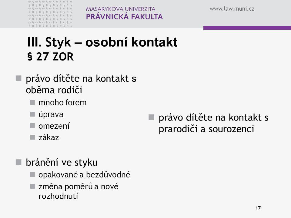 www.law.muni.cz 17 III.