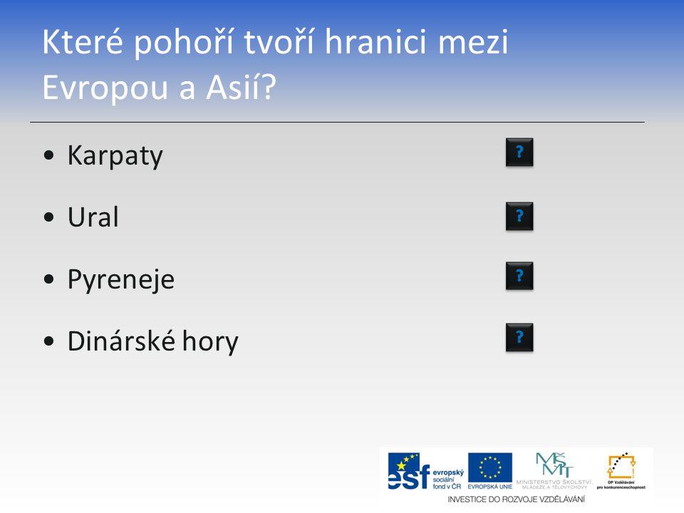 Do kterého moře ústí řeka Dněpr? Azovské moře Kaspické moře Baltské moře Černé moře