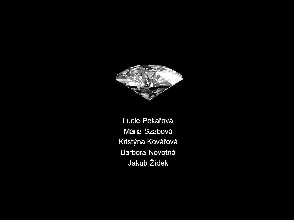 Lucie Pekařová Mária Szabová Kristýna Kovářová Barbora Novotná Jakub Žídek