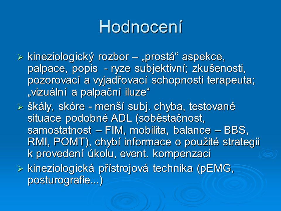 """Studie """"KONCEPT 24  rehabilitační oddělení a kineziologická laboratoř KRTVL FN Olomouc  září 07 – doposud (březen, duben 08)  experiment."""