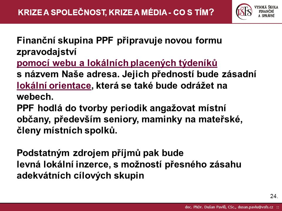 24.doc. PhDr.