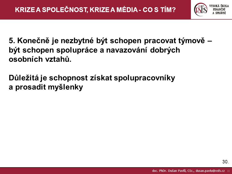 30.doc. PhDr.