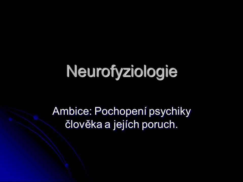 Kapitoly z neurofyziologie smyslů – výběr kapitol Fyziologie membrán: - klidový potenciál - akční potenciál - iontové kanály - šíření signálů a synapse Fyziologie smyslů: - obecné principy - čich a chuť - hmat a sluch - zrak a další smysly Psychofyziologie: - zpracování zrakové informace - učení a paměť - chování, neuroetologie