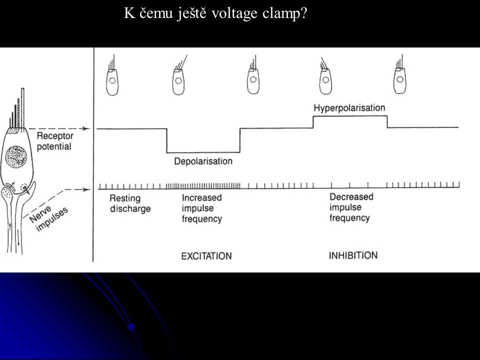 K čemu ještě voltage clamp?