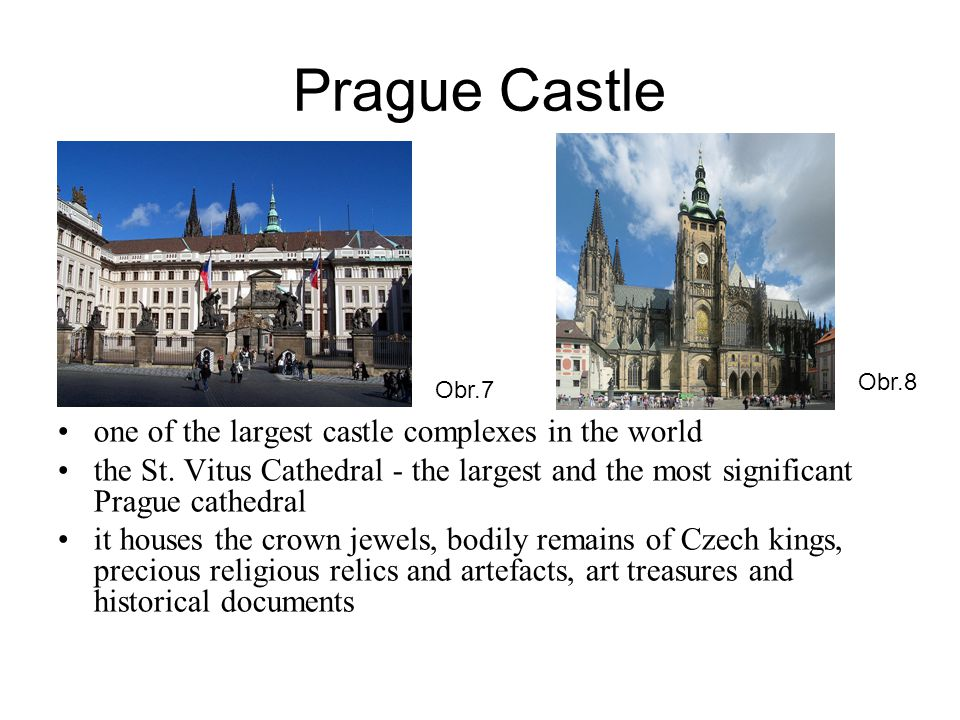 Prague Castle one of the largest castle complexes in the world the St.