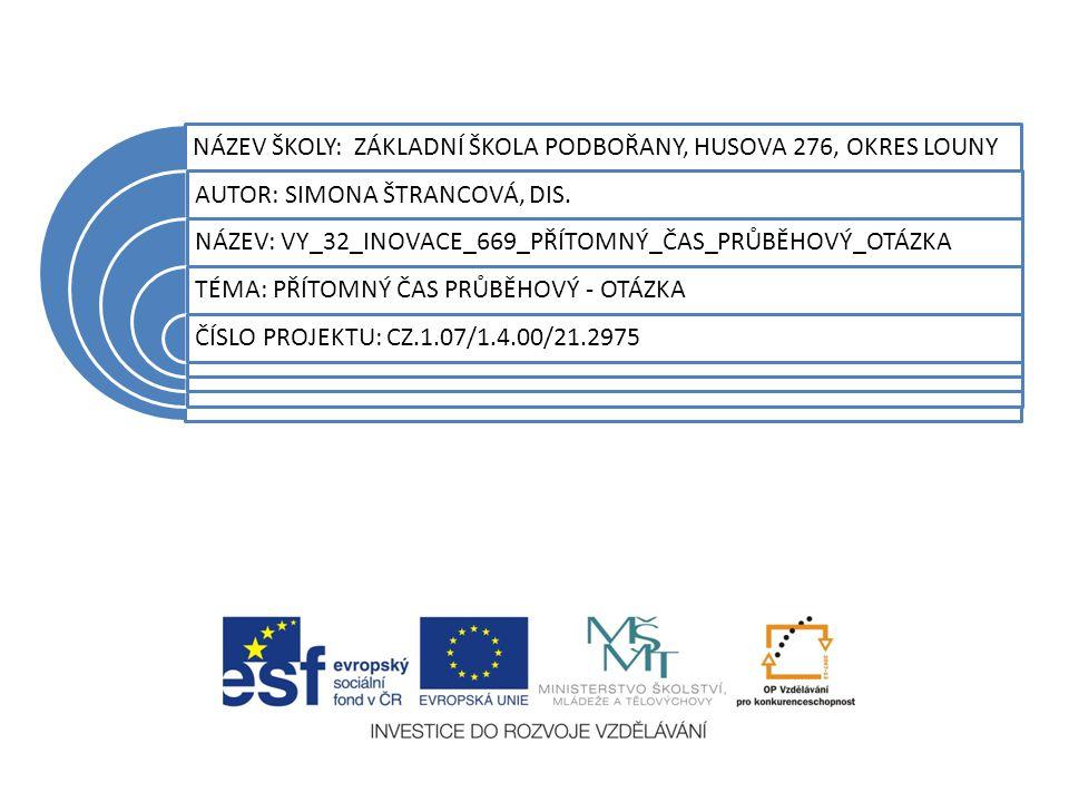 Anotace Materiál je určen pro práci žáků ZŠ 1.-2.stupeň v předmětu anglický jazyk.