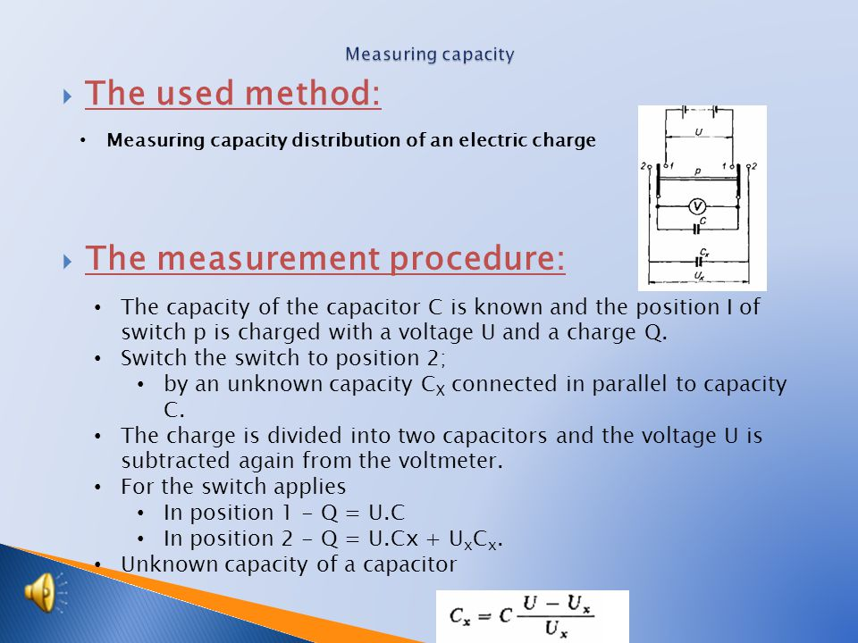 When measuring it is important that there is an AC current flowing through the circuit If not, you should make a re-count on a replacement scheme Phasor diagram  Calculation 2: