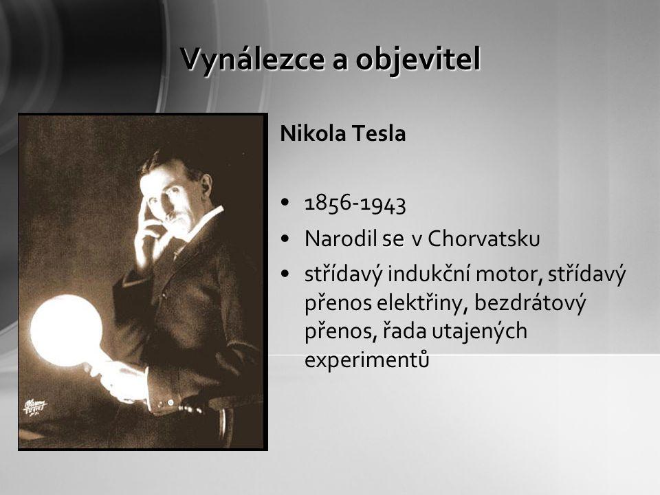 Co to vlastně je Teslův transformátor.