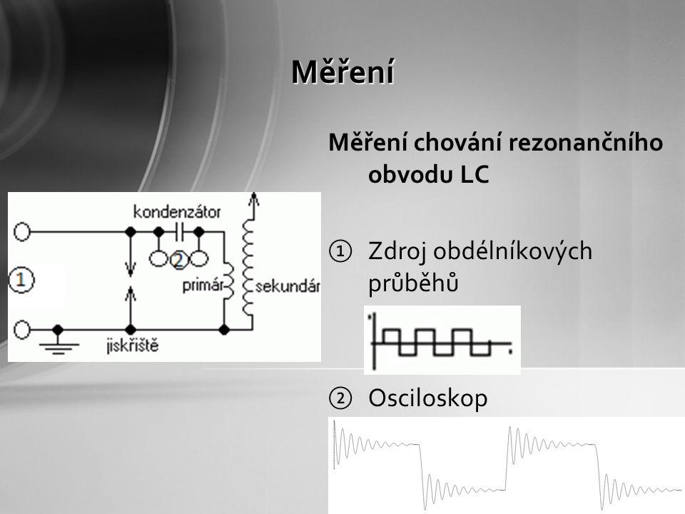 Pokus Pokusíme se změřit do jaké vzdálenosti lze detekovat elektromagnetické pole vytvořené primární cívkou Použijeme k tomu malou cívku, na které se bude vlivem působení pole indukovat proud s napětím Pomocí měřícího přístroje se pokusíme detekovat tyto veličiny na co možná nejdelší vzdálenost