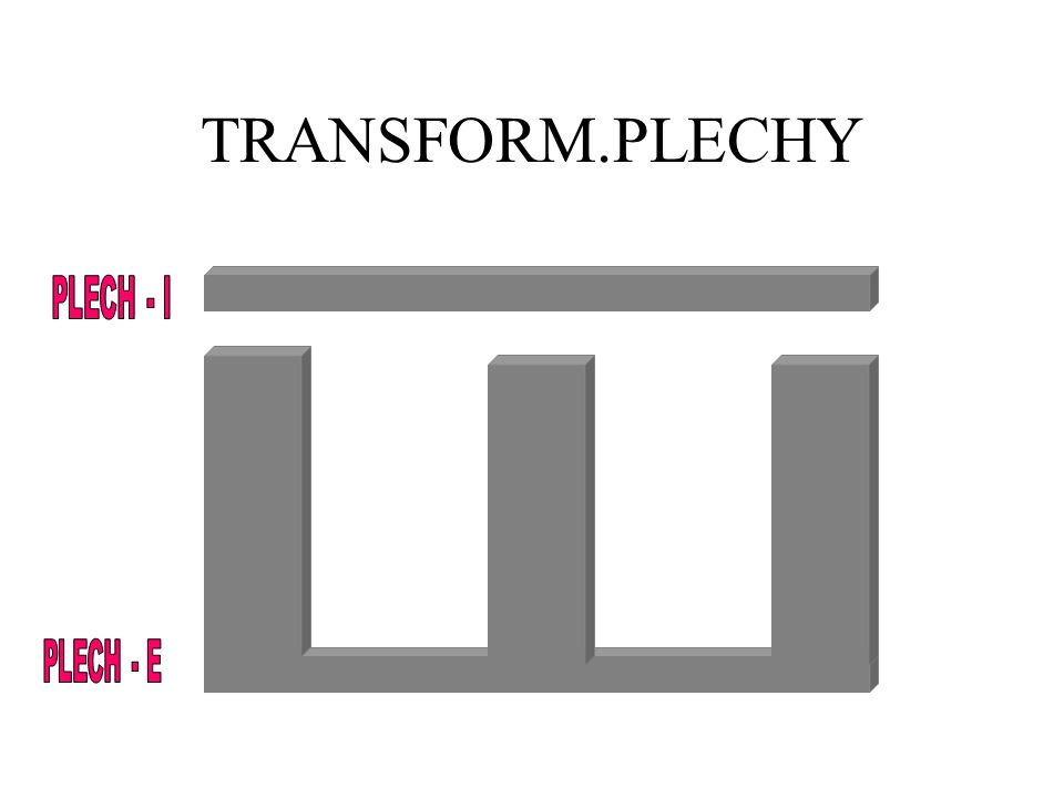 TRANSFORM.PLECHY