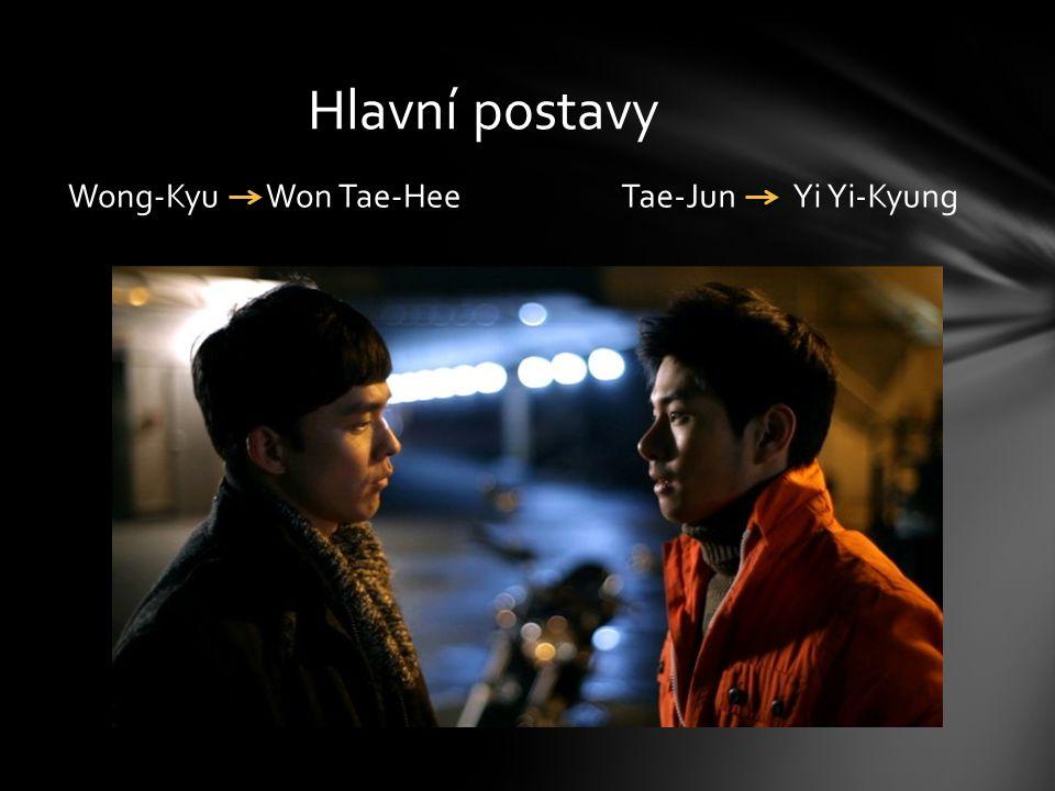 Tae-Jun Yi Yi-KyungWong-Kyu Won Tae-Hee Hlavní postavy