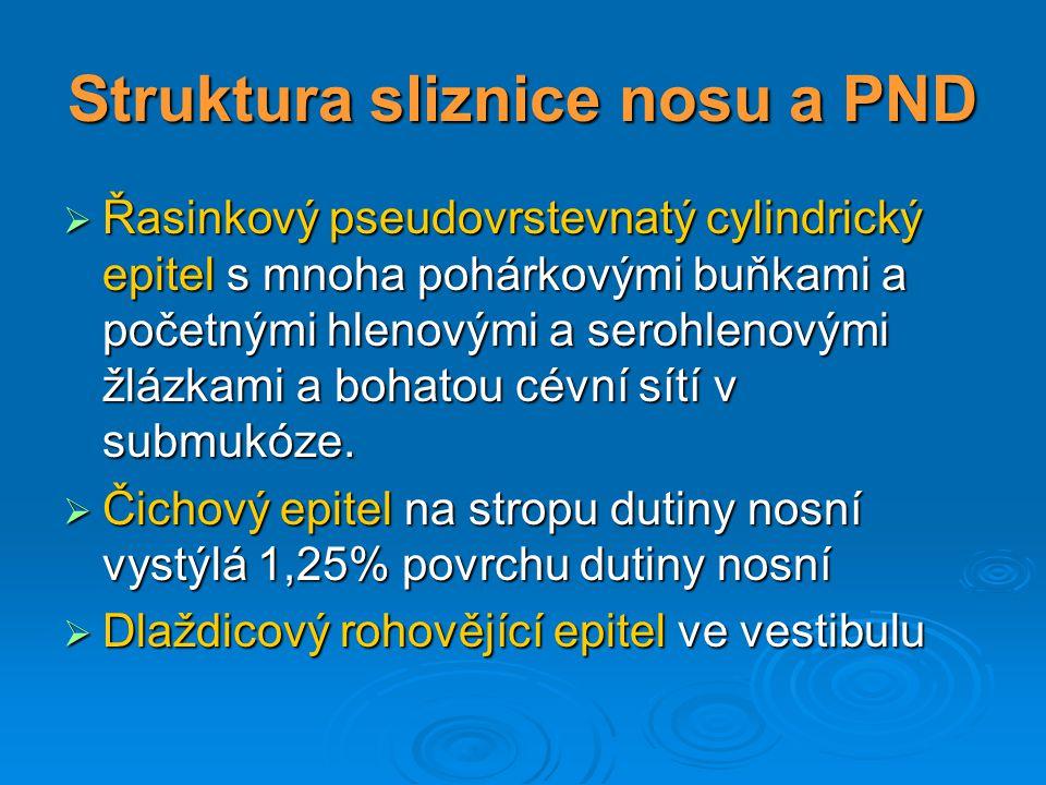 Akutní rhinosinusitis - t erapie  Virová infekce: Konzervativní terapie: Nosní kapky (anemizace) Nosní kapky (anemizace) Analgetika, antipyretika Analgetika, antipyretika Antihistaminika, dekongescens Antihistaminika, dekongescens Lokální kortikosteroidy Lokální kortikosteroidy Nosní hygiena (Vincentka) Nosní hygiena (Vincentka) Uzdravení za 1-2 týdny Uzdravení za 1-2 týdny  Bakterielní infekce: Konzervativní terapie: Nosní kapky (anemizace) Analgetika, antipyretika Antihistaminika, dekongescens lokální kortikosteroidy Antibiotika (peniciliny, cefalosporiny, makrolidy) Chirurgická terapie: Punkce AH - empyém (u dětí výjimečně) Sinoskopie, FESS