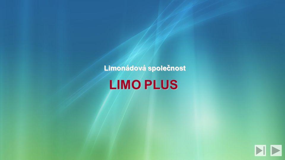 Limonádová společnost LIMO PLUS