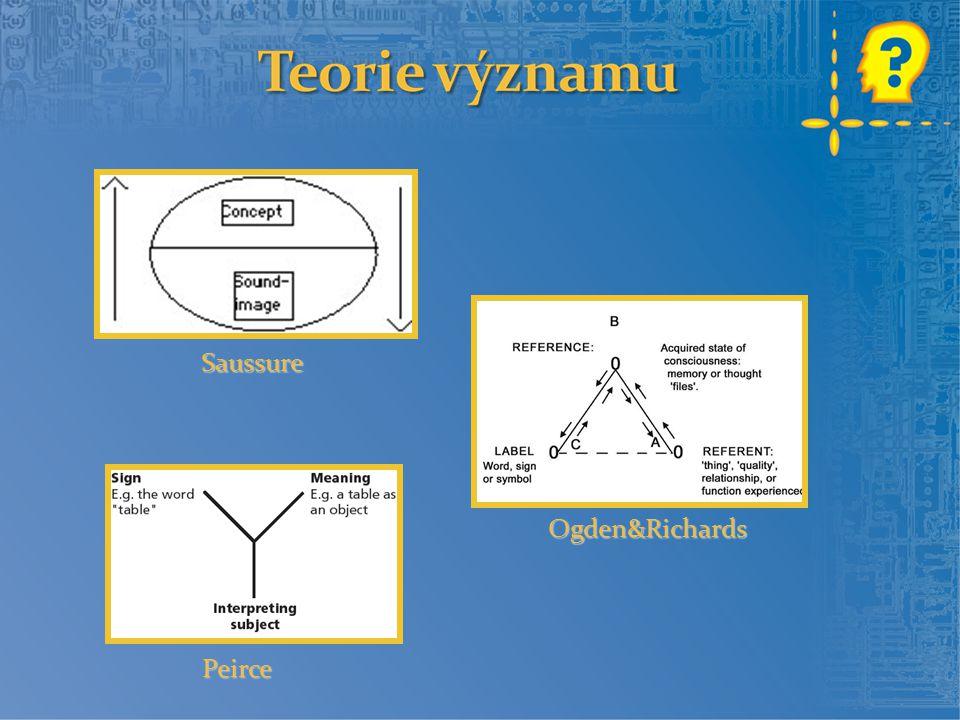 Symbol můžeme definovat jako úroveň znaku (jeho representamen), který je interpretantu přidělen zcela arbitrárně.