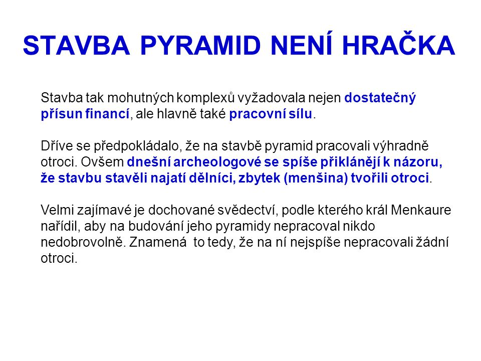 CHUFUOVA PYRAMIDA