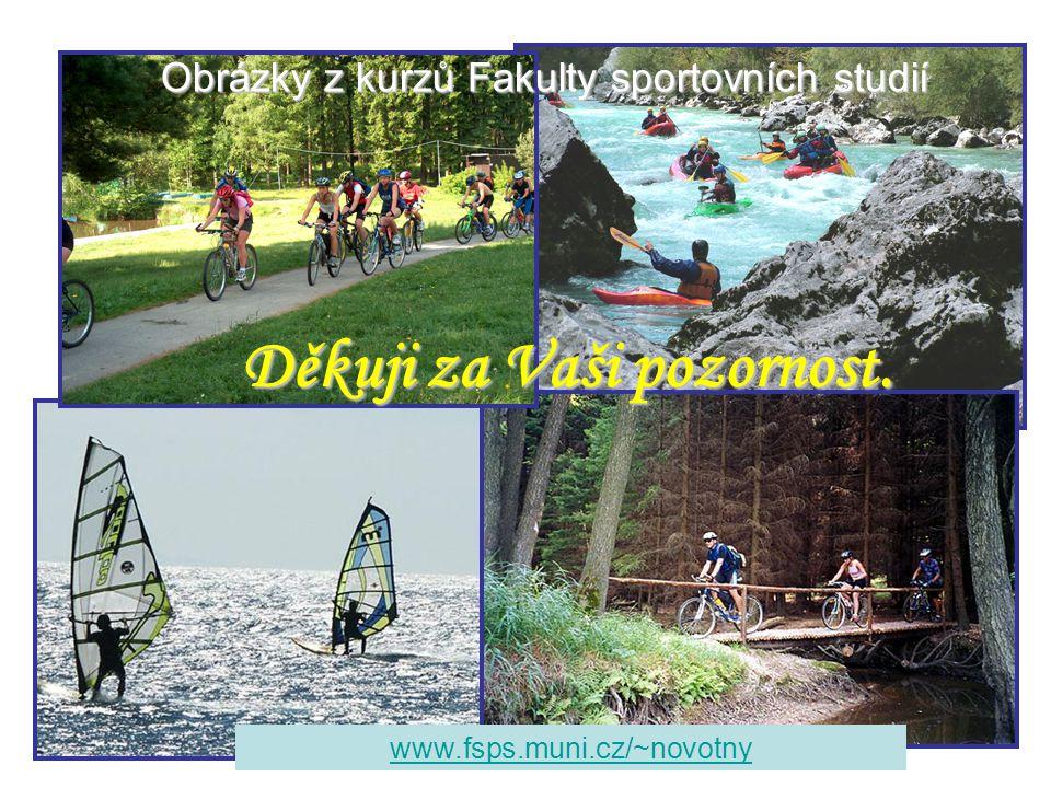 Děkuji za Vaši pozornost. www.fsps.muni.cz/~novotny Obrázky z kurzů Fakulty sportovních studií