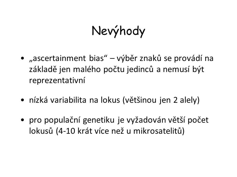 """Metody analýzy 1.Nalezení lokusů (""""ascertainment ) 2.Genotypizace"""