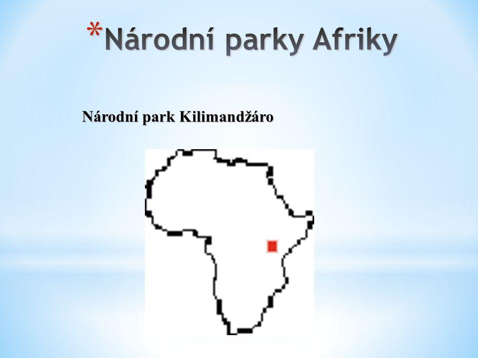 Národní park Kilimandžáro