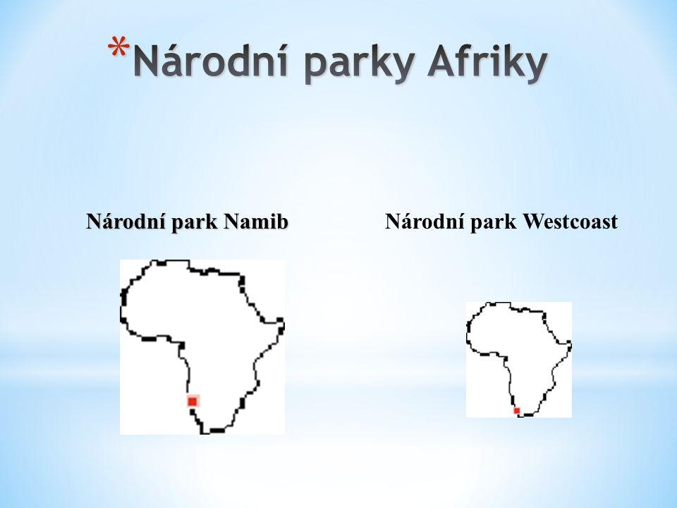 Národní park Namib Národní park Westcoast