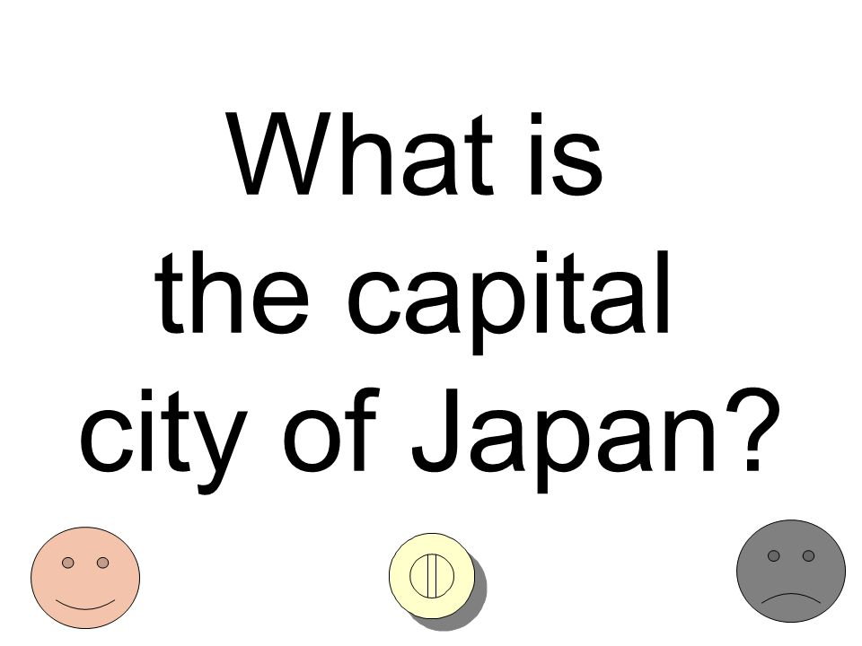What is the capital city of Japan?