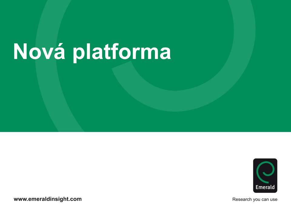 Nová platforma