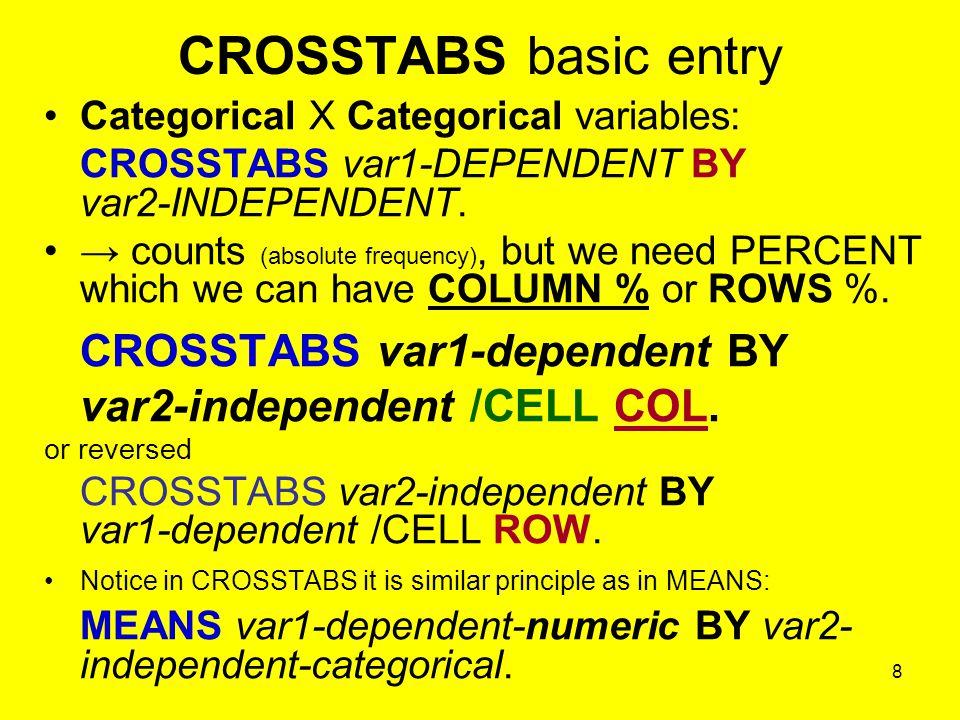 19 Prezentace tabulky v textu Nezapomeňte uvádět datový zdroj a počet validních - platných případů v konkrétní analýze (tabulce).