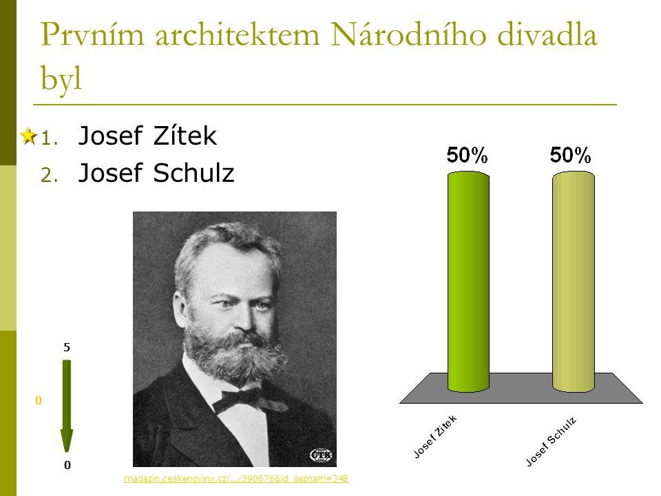 Prvním architektem Národního divadla byl 0 0 5 magazin.ceskenoviny.cz/.../390676&id_seznam=348 1.