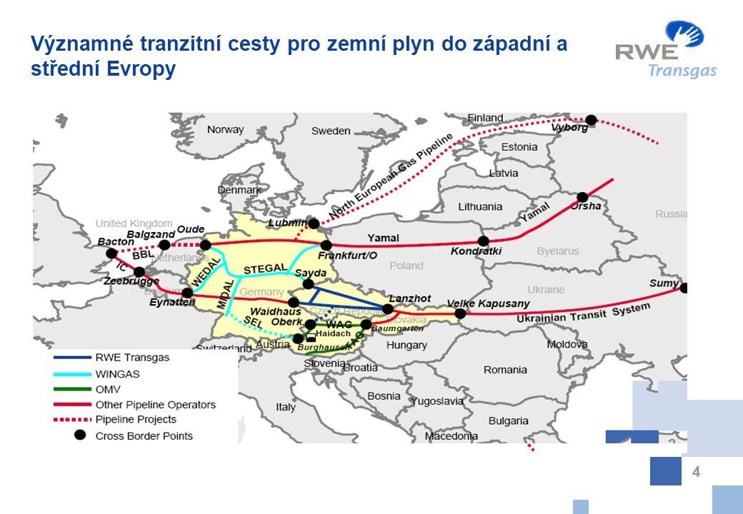 5 Liberalizace trhu se zemním plynem v ČR Nyní má každý zákazník možnost vybrat si kdekoli svého dodavatele zemního plynu.