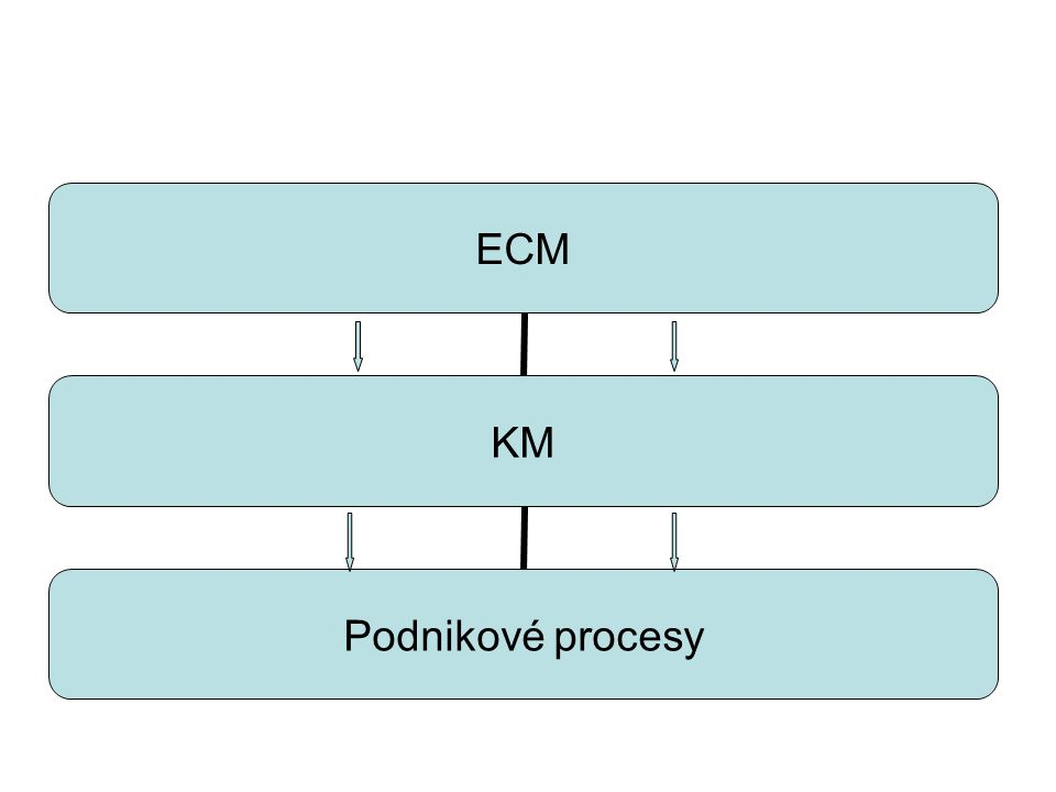 ECM KM Podnikové procesy