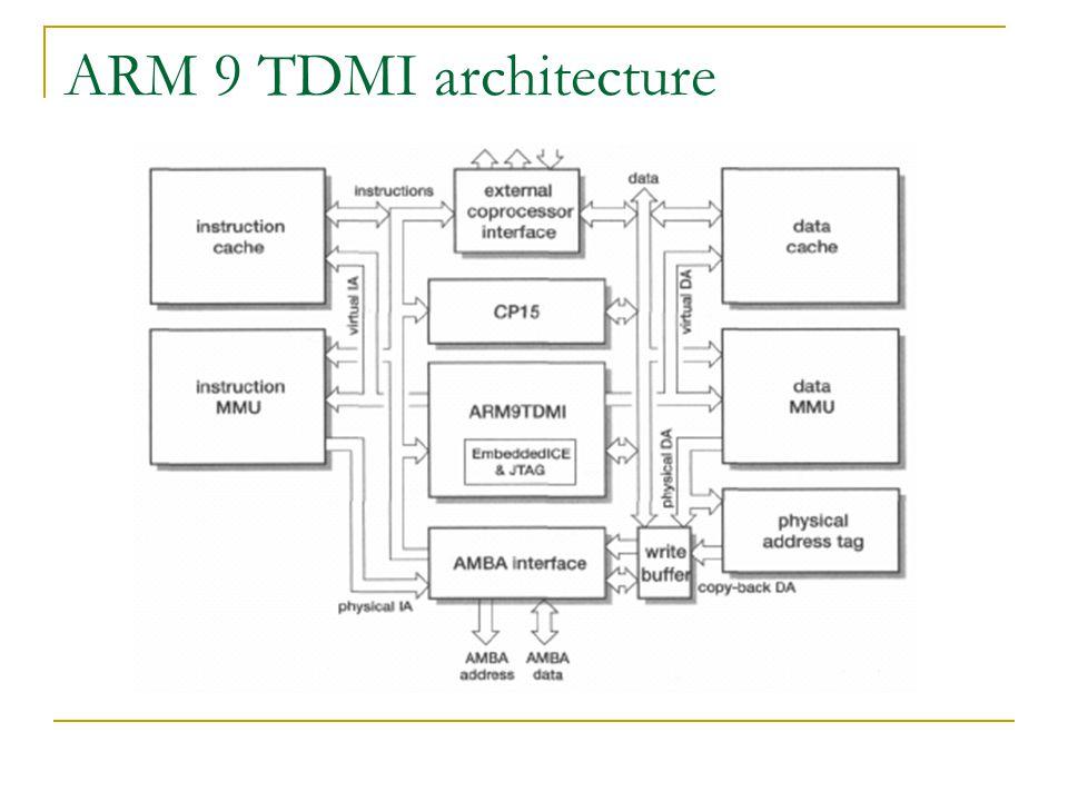 ARM 9 TDMI architecture
