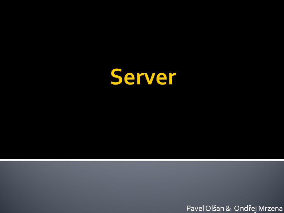  Co je server  Funkce  Verze Windows a instalace  Active Directory  Účty  DNS  DHCP  E-MAIL
