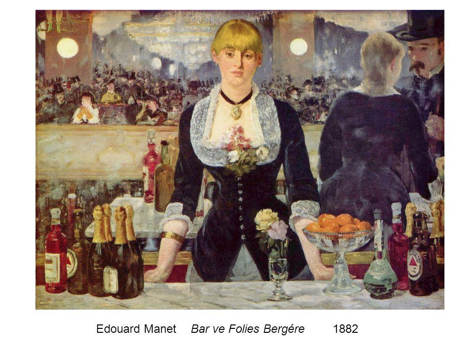 Edouard ManetBar ve Folies Bergére1882
