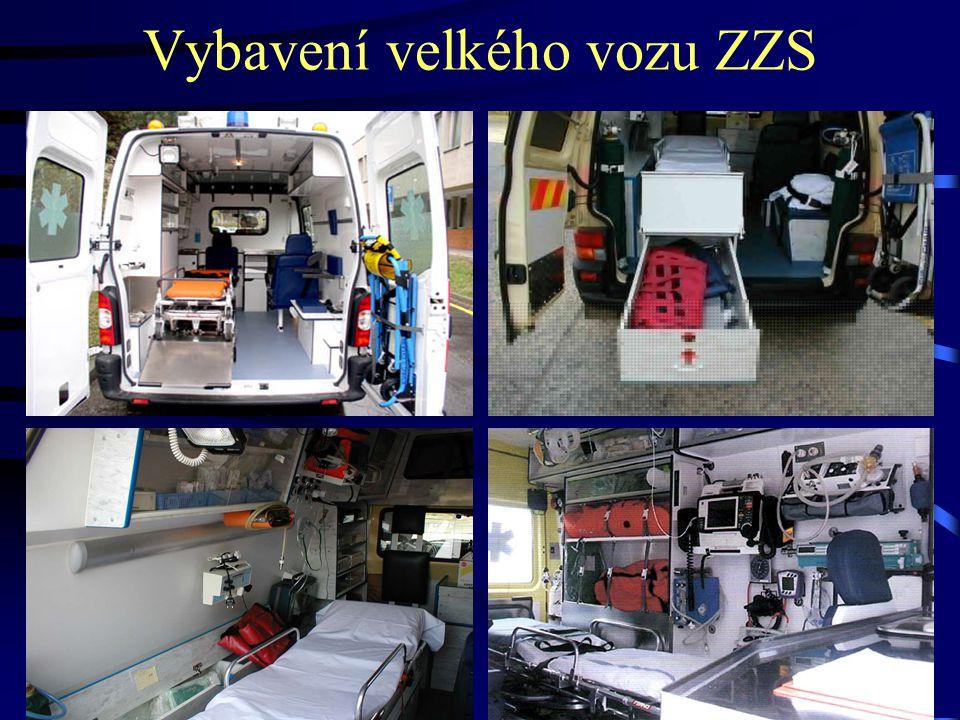 Vybavení velkého vozu ZZS