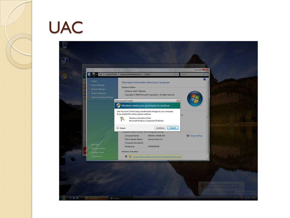 Další technologie IV MLGPO ◦ Multiple Local Group Policy Objects ◦ Umožňuje nastavit více GPO na počítači nezařazeném do domény ◦ Připojení GPO na úrovni lokálního uživatele ◦ Úzké propojení s Parental Control Parental control ◦ Bohaté nastavení omezení přístupu k počítači pro určité uživatele (omezení aplikací, her, webových stránek, času kdy je možné být u počítače,…)  Reporty (špehování ;-)) ◦ Propojitelné s aplikacemi třetích stran ◦ Nefunguje v doméně
