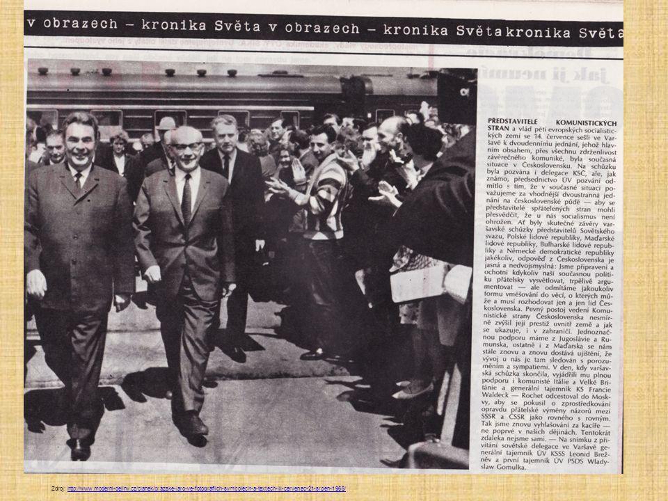 Zdroj: http://www.moderni-dejiny.cz/clanek/prazske-jaro-ve-fotografiich-symbolech-a-textech-iii-cervenec-21-srpen-1968/http://www.moderni-dejiny.cz/clanek/prazske-jaro-ve-fotografiich-symbolech-a-textech-iii-cervenec-21-srpen-1968/