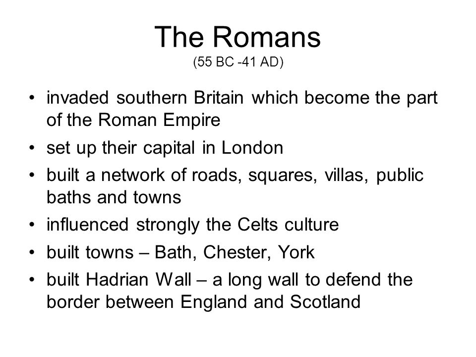 Put events to the chronological order A) Industrial Revolution B) Stonehenge was completed C) Bath and York were built D) The Tower of London was built E) Oxford University was founded F) London – the capital G) British Empire H) Golden Age I) Church of England was established J) The Celts arrived from Europe