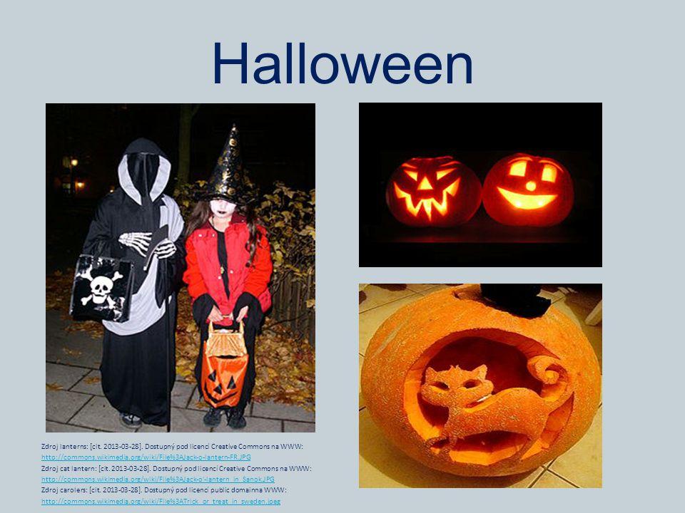 Halloween Zdroj lanterns: [cit. 2013-03-28]. Dostupný pod licencí Creative Commons na WWW: http://commons.wikimedia.org/wiki/File%3AJack-o-lantern-FR.