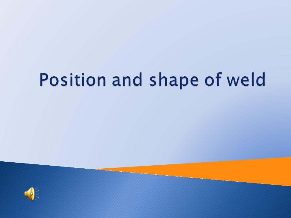 Tutorial: Engineering technology Topic: Position and shape of weld Prepared by : Ing. Josef Martinák st. Projekt Anglicky v odborných předmětech, CZ.1