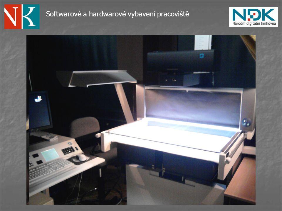 Softwarové a hardwarové vybavení pracoviště