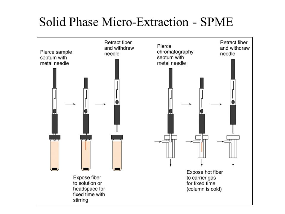 Solid Phase Micro-Extraction - SPME