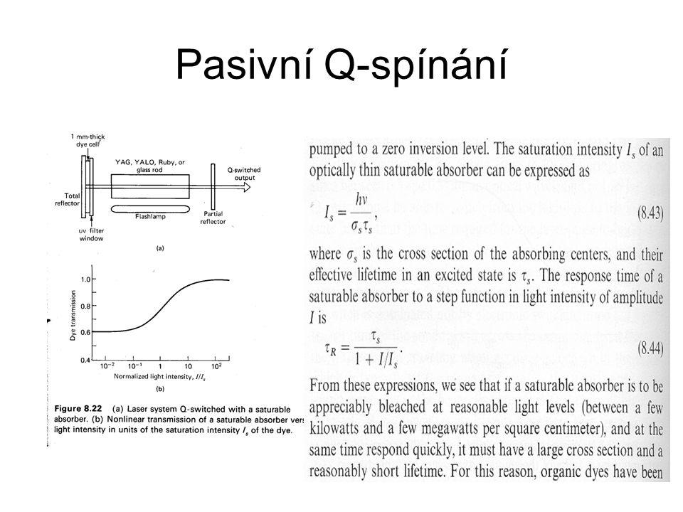 Pasivní Q-spínání
