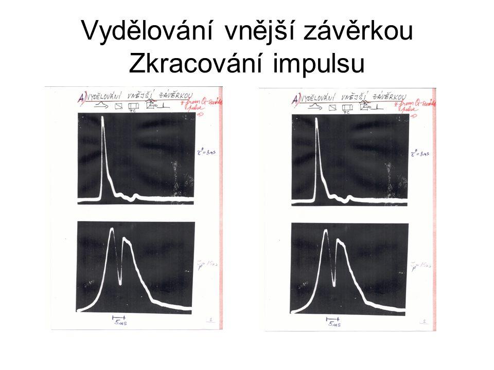 Cavity dumping-single pulse Nd:YAG Pol PC1 M2 MQW PC2 M1