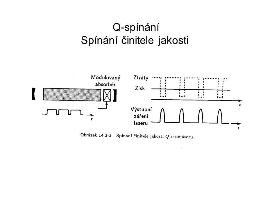 Příklady nanosekundových laserů Firmy Continuum Quantel Eksma ……