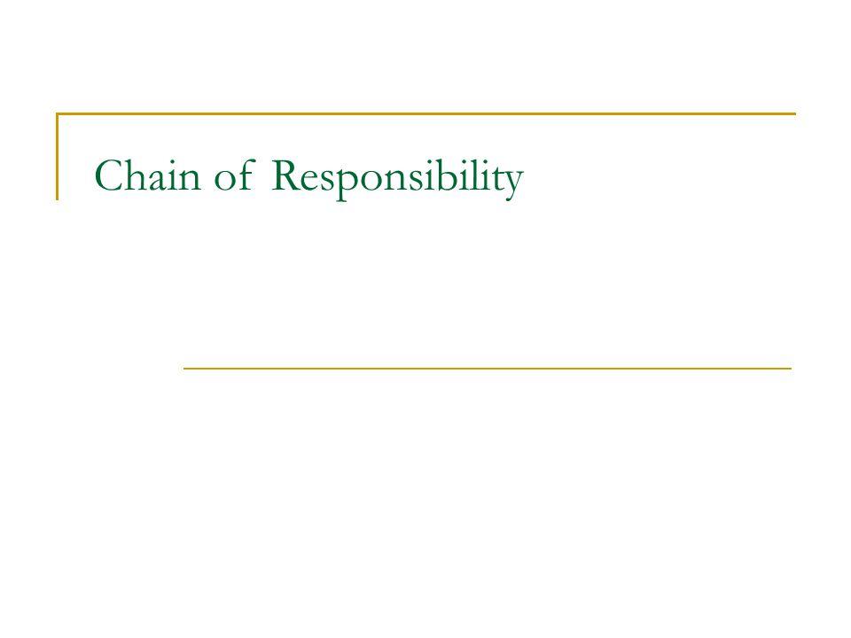 Chain of responsibility - následník Class Handler { public: HelpHandler(HelpHandler* s) : _successor(s) { } virtual void Handle (); private: Handler* _successor; }; void Handler::Handle() { if (_successor) { _successor->HandleHelp(); } class ConcreteHandler : public Handler { public: ConcreteHandler(Handler* h); virtual void Handle(); bool HasHandle(); }; ConcreteHandler:: ConcreteHandler(Handler* h) : Handler(h) { } void ConcreteHandler::HandleHelp () { if (HasHandle()) { // handle } else { HelpHandler::HandleHelp(); } Co když zapomenu zavolat nejakou funkci, která předává požadavek dál?