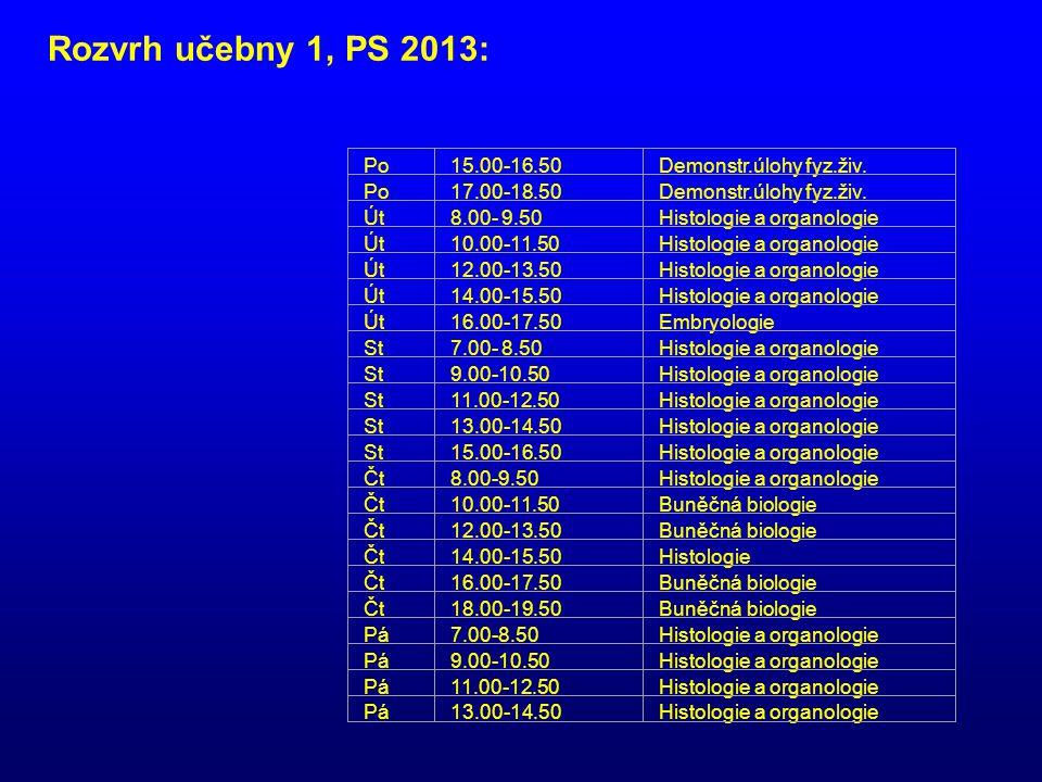 Po8.00-9.50Cytologie a anatomie rostlin Po10.00-11.50Cytologie a anatomie rostlin Po12.00-13.50Cytologie a anatomie rostlin Po14.00-15.50Cytologie a anatomie rostlin Po16.00-17.50Cytologie a anatomie rostlin Po18.00-19.50Cytologie a anatomie rostlin Út7.00-9.50Fyziologická ekologie Út10.00-11.50Fyziologická ekologie Út12.00-13.50Buněčná biologie Út12.00-13.50Buněčná biologie Út14.00-15.50Buněčná biologie Út14.00-15.50Buněčná biologie Út16.00-17.50Buněčná biologie Út16.00-17.50Buněčná biologie St7.00-8.50Cytologie a anatomie rostlin St9.00-10.50Cytologie a anatomie rostlin St11.00-12.50Buněčná biologie St11.00-12.50Buněčná biologie St13.00-14.50Buněčná biologie St13.00-14.50Buněčná biologie St16.00-17.50Cytologie a anatomie rostlin Čt8.00-9.50Cytologie a anatomie rostlin Čt10.00-11.50Botanická mikrotechnika Čt10.00-11.50Botanická mikrotechnika Čt12.00-13.50Botanická mikrotechnika Čt12.00-13.50Botanická mikrotechnika Čt14.00-15.50Seminář Čt16.00-17.50Cytologie a anatomie rostlin Čt18.00-19.50Cytologie a anatomie rostlin Pá8.00-10.50Seminář.