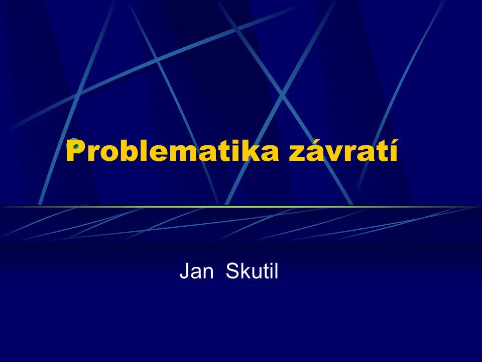 Problematika závratí Jan Skutil